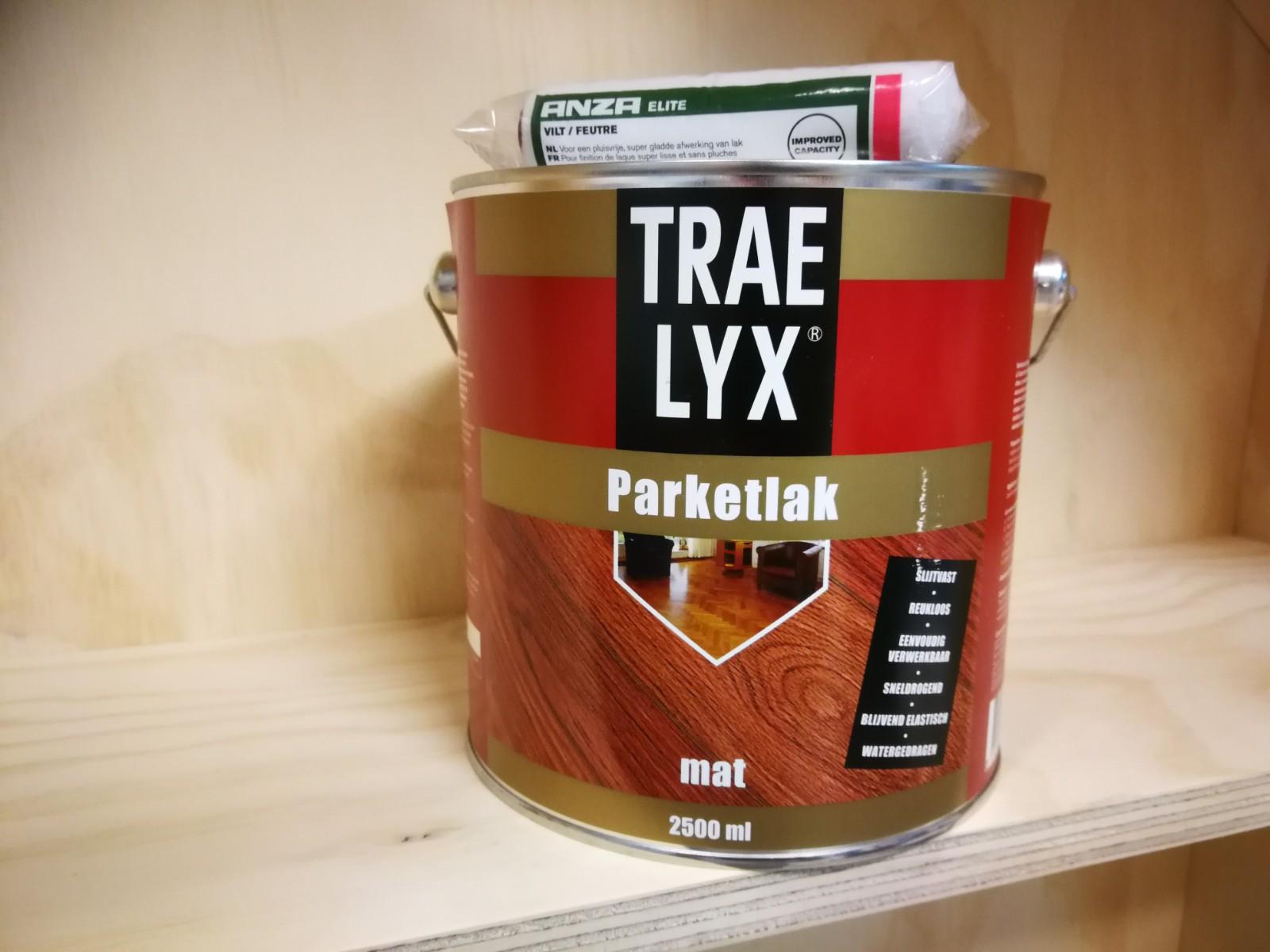 traelyx lak voor underlayment / multiplex